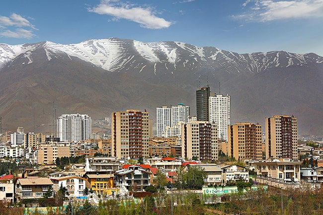 بهترین مناطق تهران