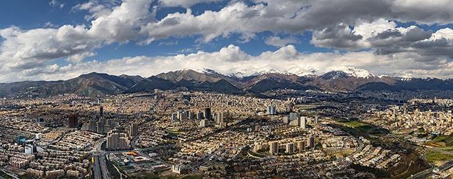 مناطق مختلف تهران و شرایط آن ها