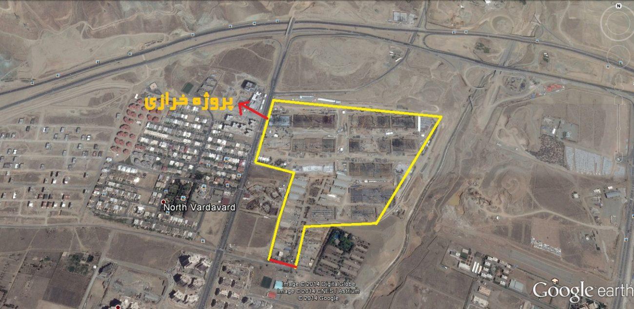 امتیاز پروژه شهید خرازی سپاه در منطقه 22