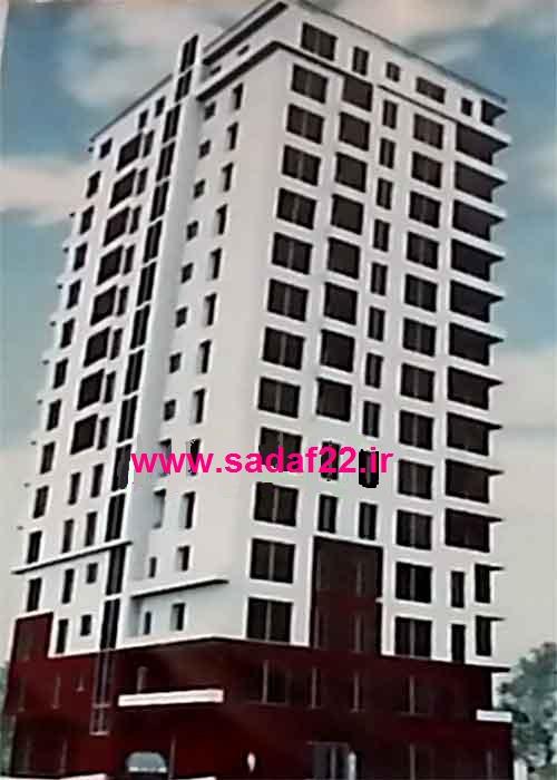 پروژه نگین ایثار تعاونی مسکن کارکنان وزارت امور اقتصادی و دارایی در منطقه ۲۲