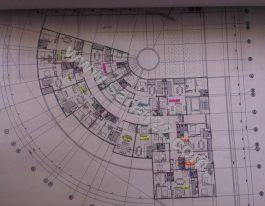 پلان نقشه پروژه سپانیر در میدان ساحل منطقه ۲۲