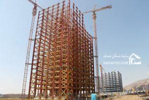 برج شماره 1 نیروی زمینی شهرک چیتگر