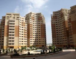 آپارتمان ۹۸ متری در طبقات بالای برجهای عرفان