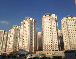 اجاره آپارتمان ۱۱۰ متری در برجهای آسمان منطقه۲۲