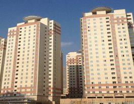 فروش آپارتمان114متری در برجهای آسمان شمال دریاچه چیتگر