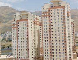 آپارتمان ۱۰۸متری فروشی در برجهای آسمان