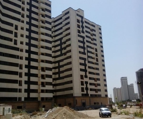 فروش آپارتمان 105 متری در مجتمع یاس2 بلوار کوهک منطقه22