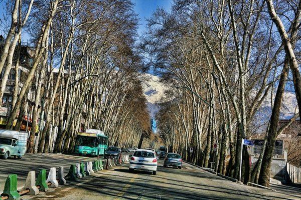 مظنه قیمت مسکن در خیابان ولیعصر تهران
