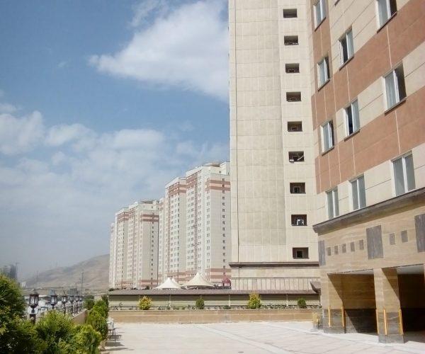 اجاره واحد 110 متری در برجهای آسمان منطقه 22