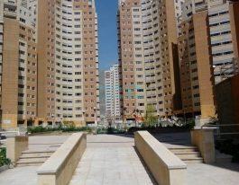 فروش آپارتمان ۱۲۰ متری در برجهای عرفان شمال دریاچه چیتگر