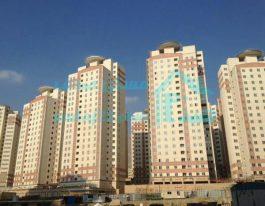 فروش آپارتمان ۱۰۷ متری در برجهای آسمان منطقه۲۲