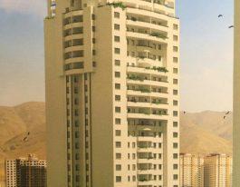 اجاره واحد ۱۶۲ متری در یکی از برجهای لوکس منطقه