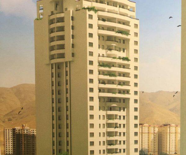 رهن آپارتمان ۱۳۵ متری نوساز