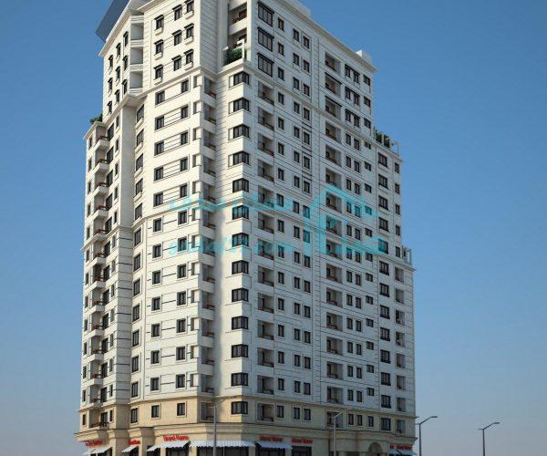پروژه برج عقیق شهرک چشمه منطقه ۲۲