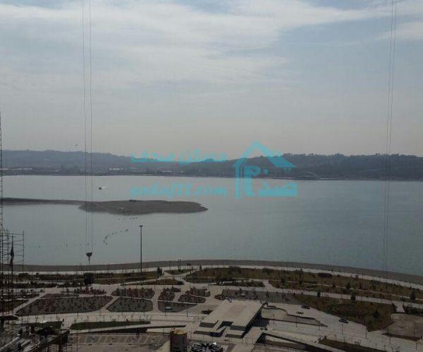اجاره واحد ۱۶۴ متری نوساز و کلید نخورده ویو دریاچه