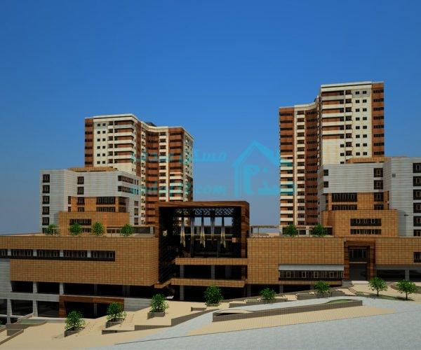 پروژه مسکونی اداری تجاری آریان پاسارگاد (برج پارسه) در منطقه ۲۲