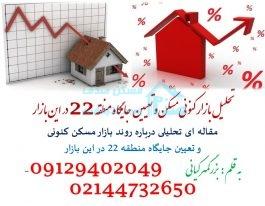 تحلیل بازار کنونی مسکن و تعیین جایگاه منطقه ۲۲ در این بازار