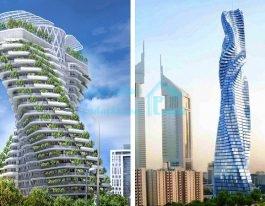 معرفی ۵ تا از برترین ساختمان های جهان