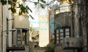 ساختمان های قدیمی در تهران