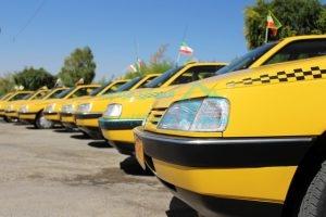 خطوط تاکسی رانی منطقه 22