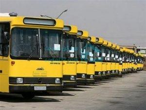 خطوط اتوبوس رانی منطقه22