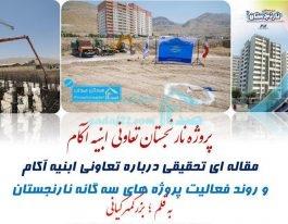 تحلیل پروژه نارنجستان تعاونی ابنیه آکام